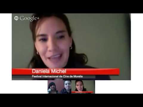 Primer Hangout con Daniela Michel desde Cannes 2013