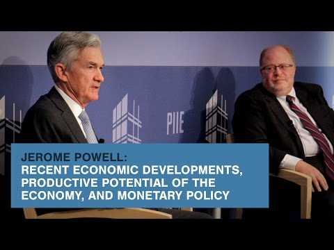 Recent Economic Developments, Productive Potential of the Economy, & Monetary Policy