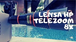 Review Lensa HP Telezoom 8X [Mobile Phone Telescope]