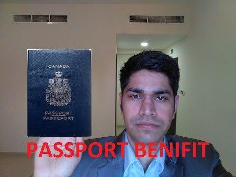 CANADA PASSPORT BENEFITS 2018