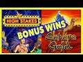 🎲 High Stakes & 🐪 Sahara Gold ⚡️ Lighting Link Bonus Wins !