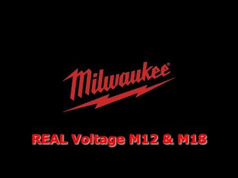Milwaukee REAL Voltage M12 & M18
