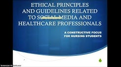 ethical principles for healthcare professionals: take 2