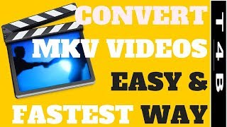 How to convert MKV to MP4 ( without apps )