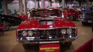 2013 Muscle Car And Corvette Nationals Coverage: 1969 Mercury Cyclone CJ 428 Video V8TV