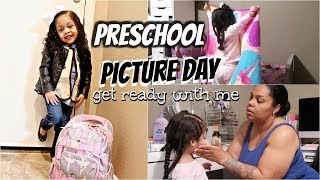 PRESCHOOL MORNING ROUTINE |  GET READY WITH ME | TYPICAL MORNING ROUTINE     ( PICTURE DAY )