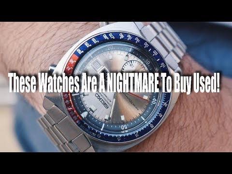 5 Watches That Are A NIGHTMARE To Buy Used! (Tag Heuer, Omega, Panerai, Seiko)