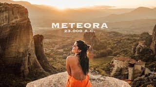 METEORA: LA CITTÁ SOSPESA DELLA GRECIA! CI VIVEVANO 23.000 ANNI FA!