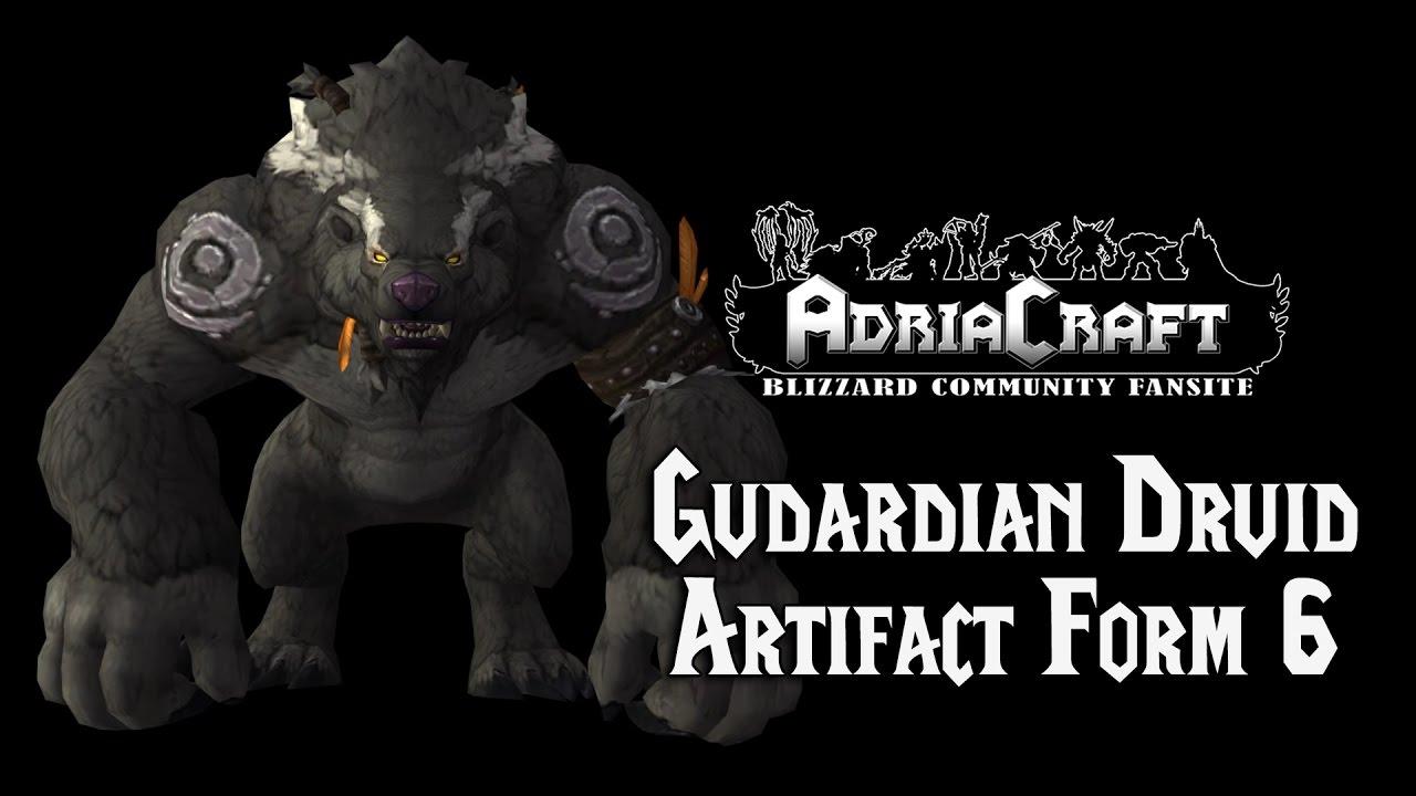 Guardian Druid Artifact 6 Form - YouTube