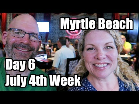 Barefoot Landing And More! Myrtle Beach July 4th Week!