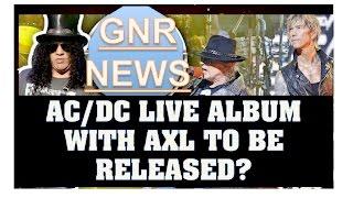 guns n roses news ac dc to release live album with axl singapore photos reviews more