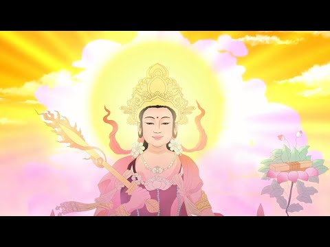 Story of Manjushri Bodhisattva: A poor woman begging for food (English subtitle)