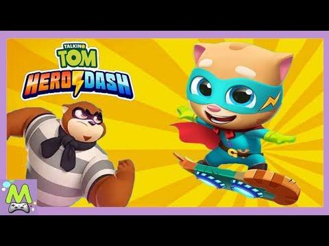 Говорящий Том Погоня Героев/Talking Tom Hero Dash.Спасение Джинджера.Обновление Игры