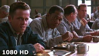 Сцена, где Энди Дюфрейн в столовой | Побег из Шоушенка (1994)