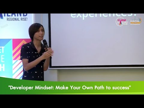 """Developer Mindset: Make Your Own Path to success"""