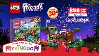 Đồ chơi lắp ráp LEGO Friends - Cắm Trại Mùa Hè - Khuyến Mãi 1-6 - MYKINGDOM