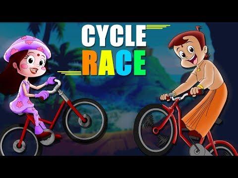 Chhota Bheem - The Electrifying Cycle Race!