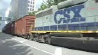 Railfanning Tampa