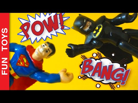 Batman v Superman Imaginext Robin, Krypto, Joker, Penguim, Two-Face, Heroes x Villains Toy Adventure