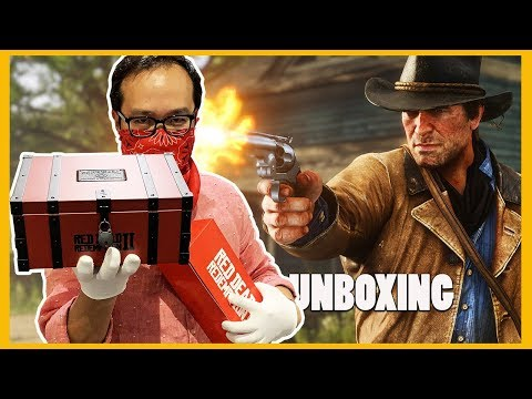 """Red Dead Redemption 2 : le Collector le plus """"quali"""" de 2018 ? (UNBOXING)"""