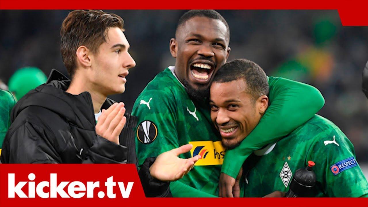 Gladbach feiert Last-Minute-Sieg: Gänsehaut und kaputte Stimmbänder | kicker.tv