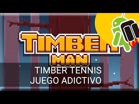 Timber Tennis, el nuevo juego del leñador
