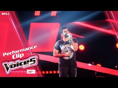 The Voice Thailand - พาวิน รัตนะเศวตกุล  - Don't Look Back In Anger - 9 Oct 2016