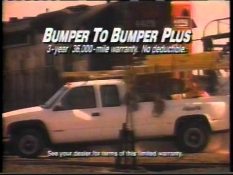 1990s Chevy Commercial - Like a Rock - Part 2 - YouTube