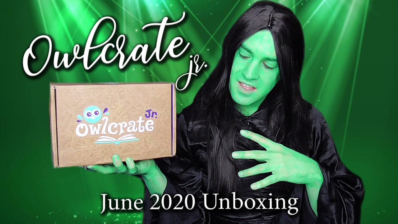 Elphaba Unboxes OwlCrate Jr. | Magic in Bloom