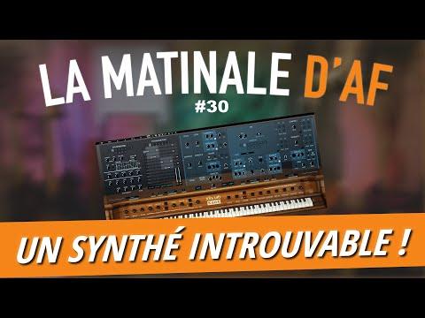 Un synthé rare des années 80 enfin émulé ? (+ CONCOURS) - LA MATINALE D'AF #30