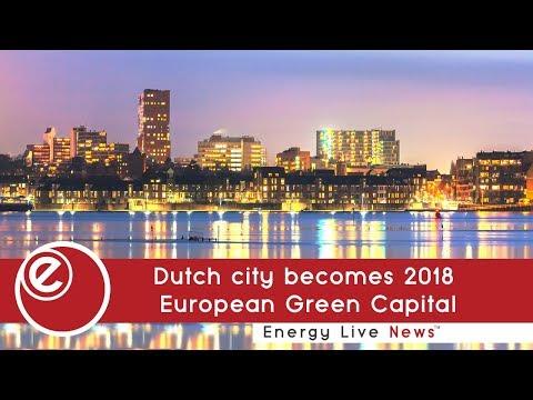 Dutch city becomes 2018 European Green Capital