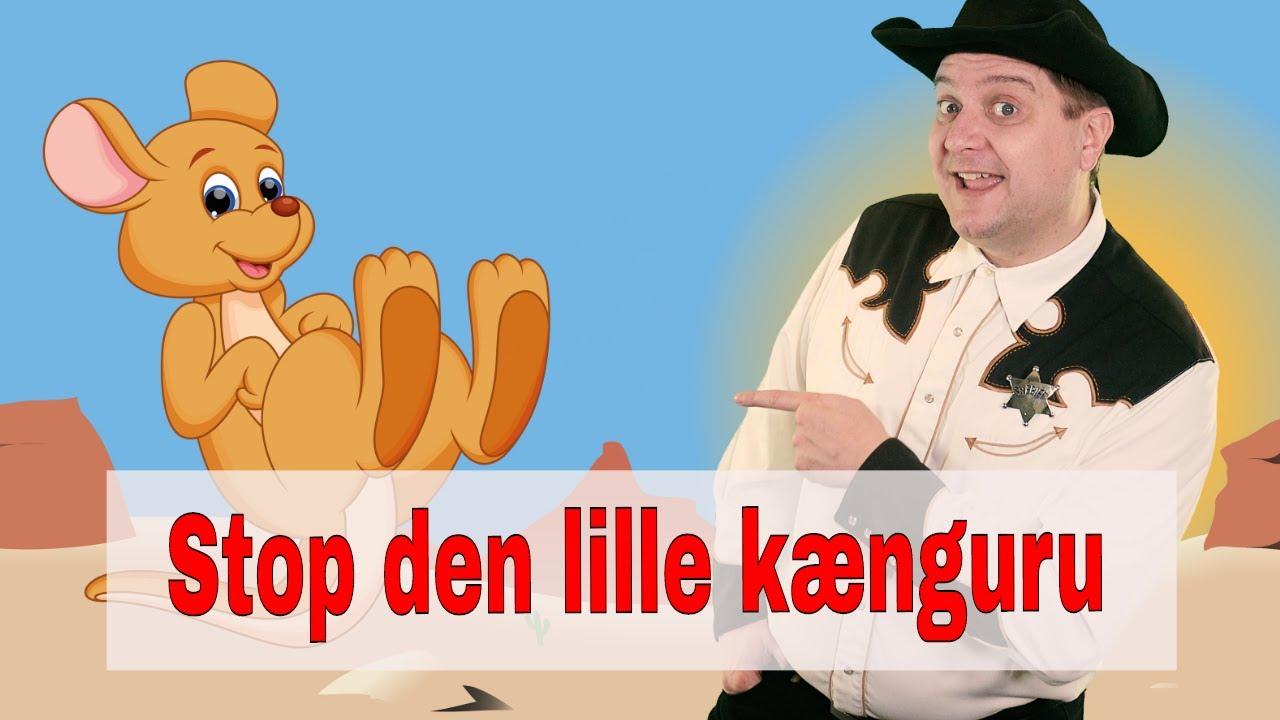 Stop den lille kænguru | Børnesang med fagter | Syng med Sherif Haps
