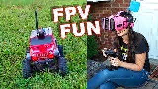 fpv truck exploring fun thunder tiger kaiser xs 4wd thercsaylors