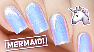 Mermaid Powder Nails! LIVE with Sandi