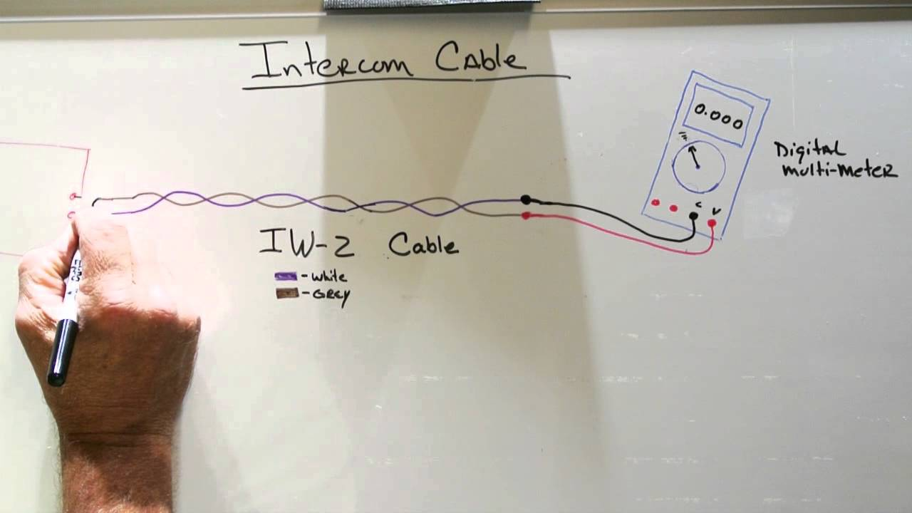 2 Wire Intercom Schematic