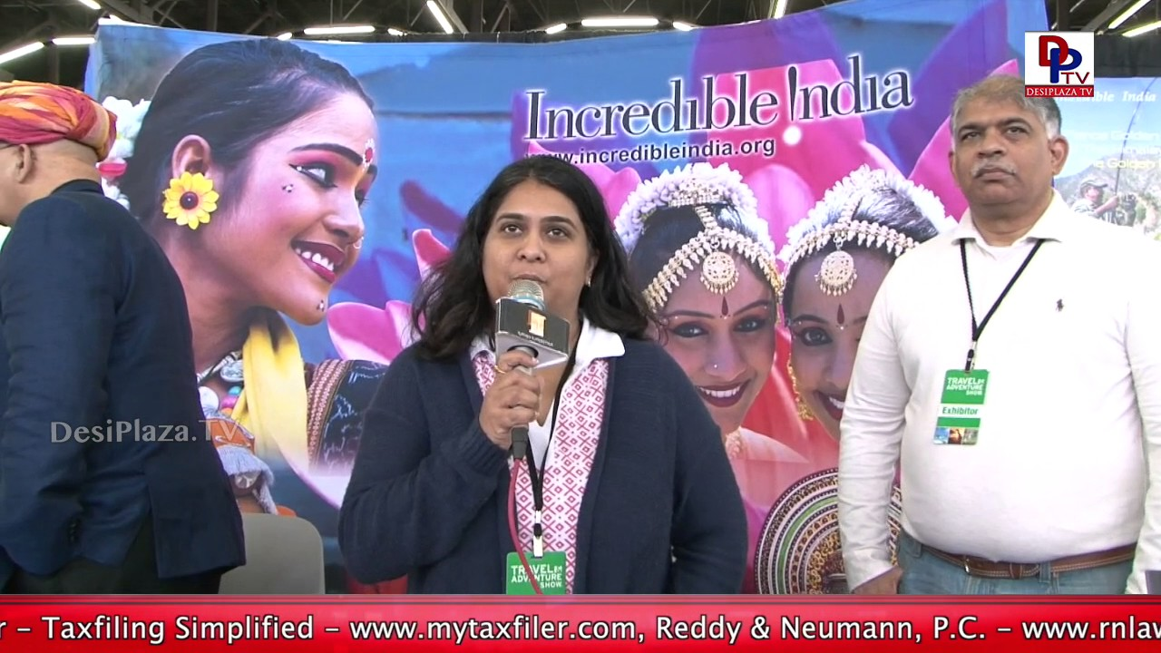 Sandhya Haridas, Representative of India Tourism speaks to DesiplazaTV || Travel & Adventure Show