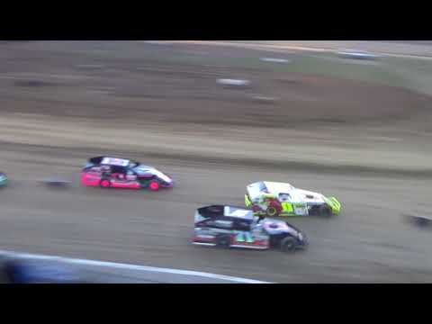 I.M.C.A. Heat Race #2 on 04-27-2018 at I-96 Speedway.
