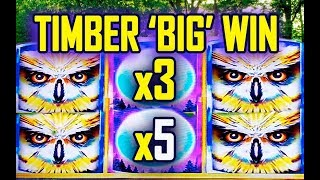 🐺TIMBER 'BIG WIN'🐺 - ♨️TIMERWOLF GRAND SLOT MACHINE♨️ - Slot Machine Bonus