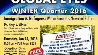 Immigration and Refugees: We've Seen this Newsreel Before  (Winter 2016)