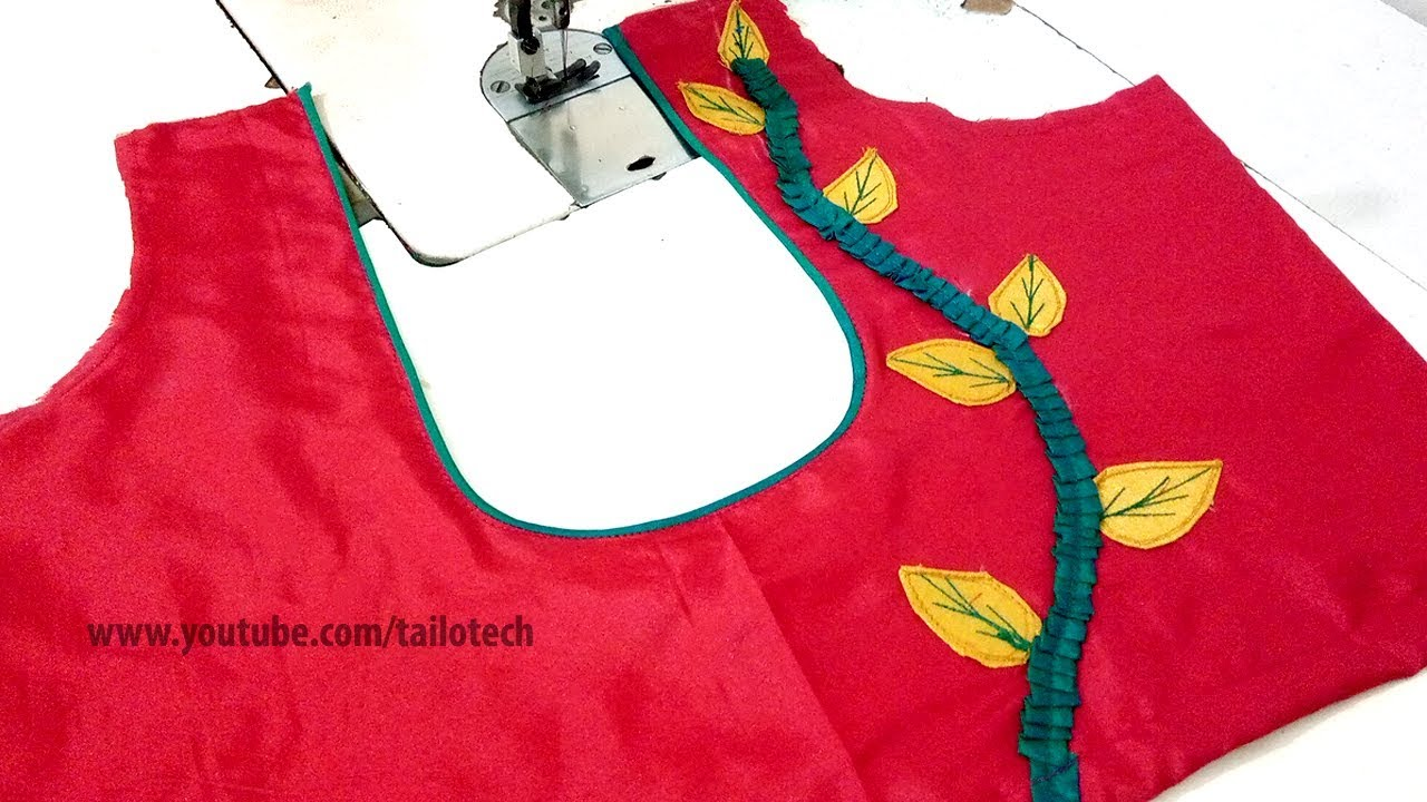 Latest Blouse Design Back Neck Pattern Easy New Beautiful Stylish