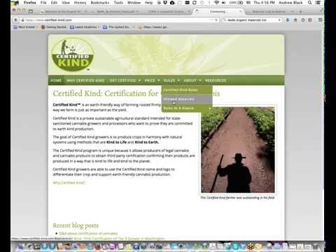 Organic Cannabis Growers - Allowed Fertilizers and Pesticides