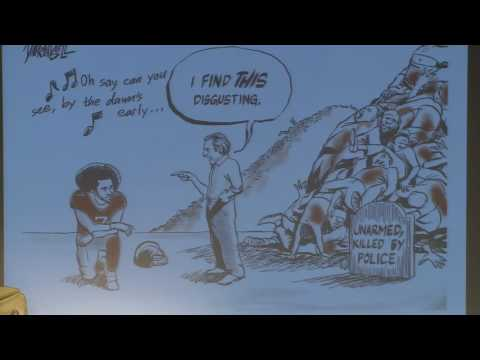Black and Blue: Cartooning #BlackLivesMatter and Modern Policing
