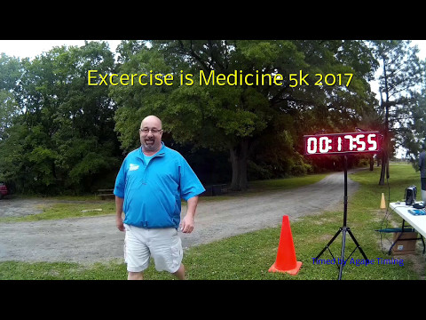 Exercise is Medicine 5k 2017