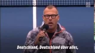 Запрещённый гимн Третьего рейха исполнили в США на матче Fed Cup