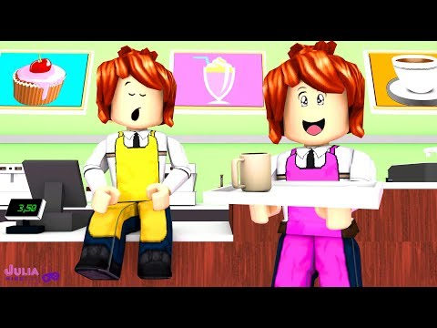 Roblox - TRABALHO NA CAFETERIA (Work at a Coffee Shop)