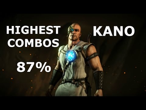 MKX: Kano Highest Combos 87%
