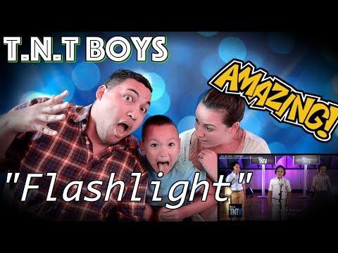 TNT Boys - Flashlight FAMILY REACTION!! 🔥
