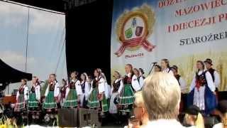 Dożynki Mazowieckie 2014 - Dzieci Płocka w Staroźrebach