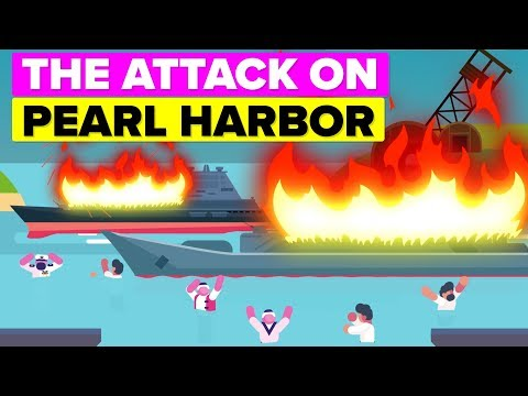 The Attack on Pearl Harbor - Surprise Military Strike by the