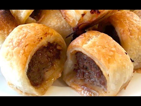 HOW TO MAKE MINI PARTY SAUSAGE ROLLS  - Greg's Kitchen